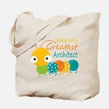 World's Greatest Architect Tote Bag