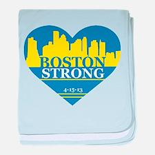 Cute Boston strong baby blanket