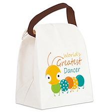 World's Greatest Dancer Canvas Lunch Bag