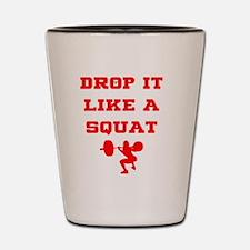 Funny Drop Shot Glass