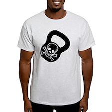 Kettlebell Skull  T-Shirt