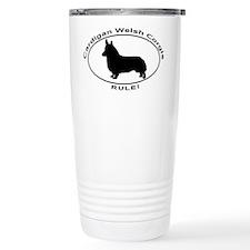 CARDIGAN WELSH CORGIS RULE Travel Mug