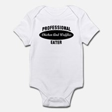 Pro Chicken And Waffles eater Infant Bodysuit