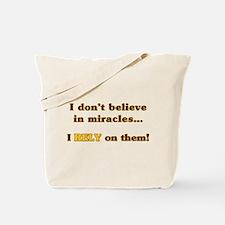 Miracle Student Tote Bag