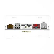3-Braceyvashirt.png Aluminum License Plate