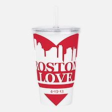 Boston Love Acrylic Double-wall Tumbler
