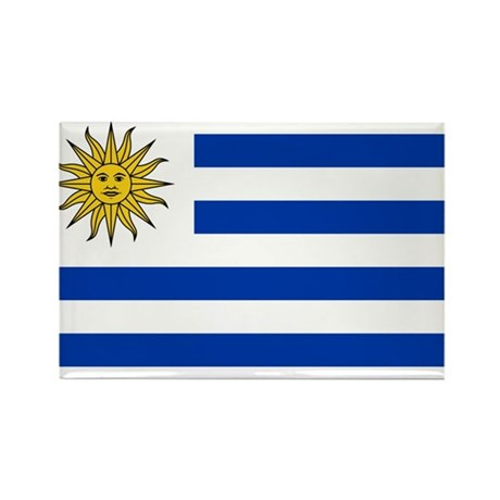 Uruguay Rectangle Magnet