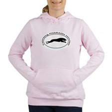 PHARAOH HOUND Coursing Women's Hooded Sweatshirt