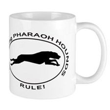 PHARAOH HOUND Coursing Mugs
