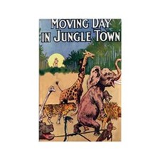 Jungle Town Magnets