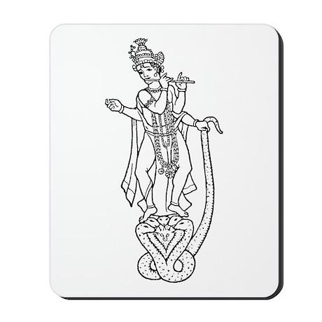 Krishna - Hindu Diety Mousepad