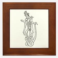 Krishna - Hindu Diety Framed Tile