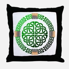 Celtic Knots Throw Pillow