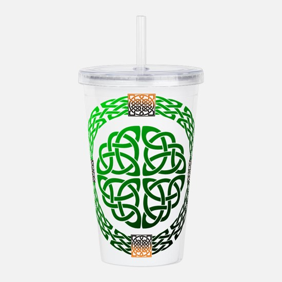 Celtic Knots Acrylic Double-wall Tumbler