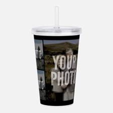 5 PHOTO COLLAGE Acrylic Double-wall Tumbler
