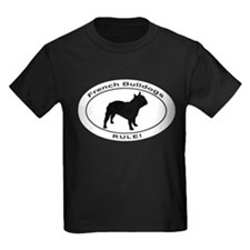 FRENCH BULLDOGS RULE T-Shirt