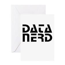 DATA NERD 2 Greeting Cards