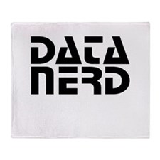 DATA NERD 2 Throw Blanket