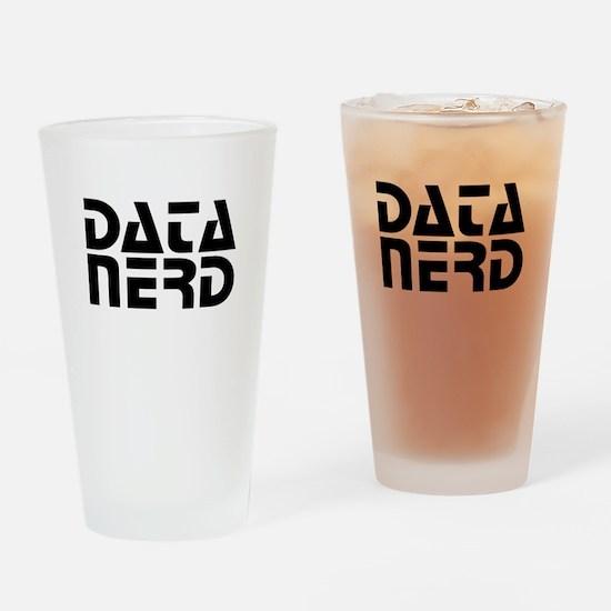 DATA NERD 2 Drinking Glass