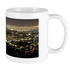 LA Skyline Lights Mugs