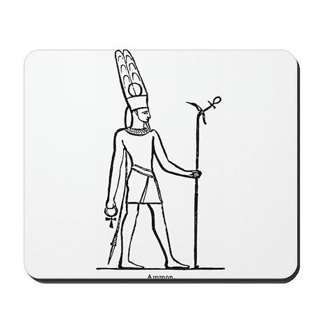 Ammon - Egyptian Diety Mousepad