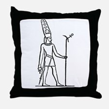 Ammon - Egyptian Diety Throw Pillow
