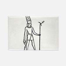 Ammon - Egyptian Diety Rectangle Magnet