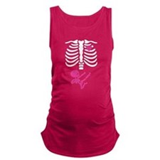 Skeleton Baby Girl Maternity Tank Top