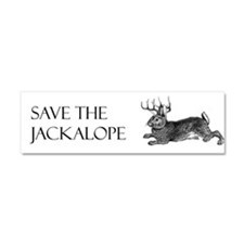 Cool Jackalope Car Magnet 10 x 3
