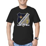 USS WESTCHESTER COUNTY Men's Fitted T-Shirt (dark)