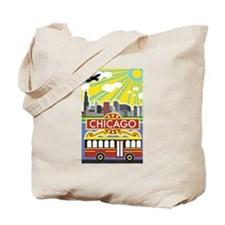 Cute Illinois Tote Bag