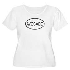 AVOCADO (oval) T-Shirt