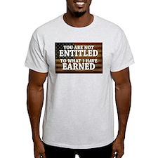11x17_DarkFlagEntitled T-Shirt