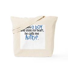 I know a boy Tote Bag