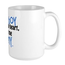 I know a boy Ceramic Mugs