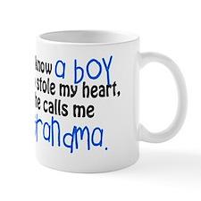 I know a boy Small Mugs