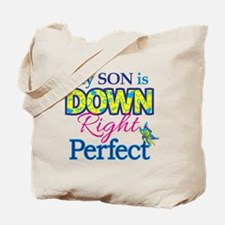Son_Down_Rt_Perfect Tote Bag