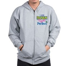 Iam_Down_Rt_Perfect Zip Hoodie