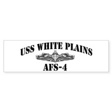 USS WHITE PLAINS Bumper Sticker