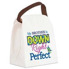 Brother_Down_Rt_Perfect Canvas Lunch Bag