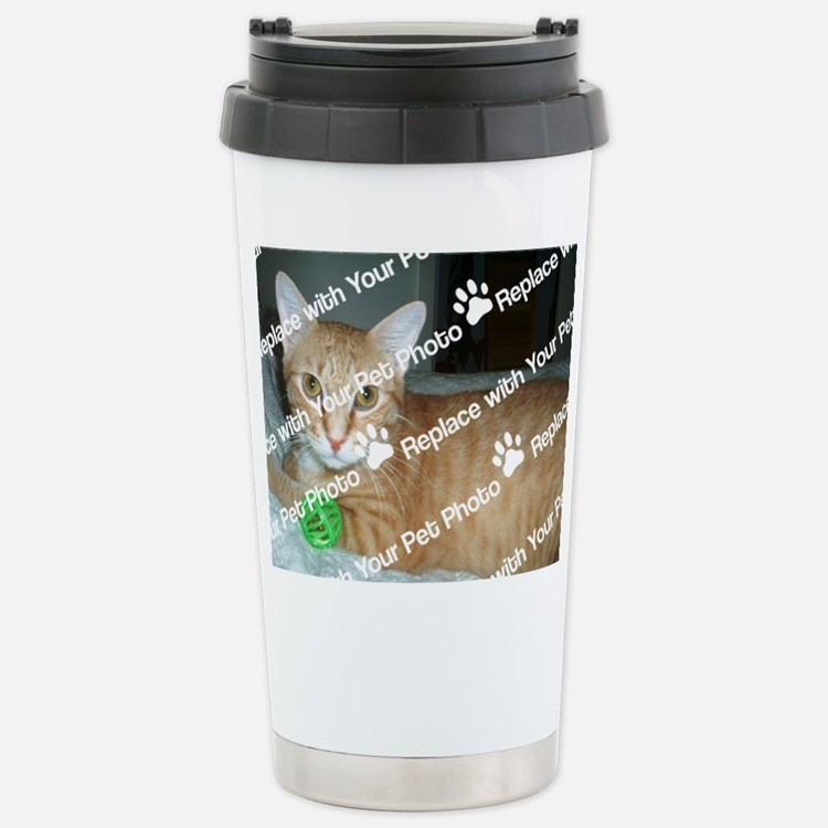 CUSTOM Your Photo Stainless Steel Travel Mug