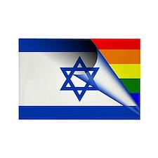 Israel Gay Pride Rainbow Flag Magnets