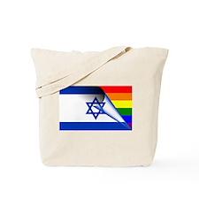 Israel Gay Pride Rainbow Flag Tote Bag