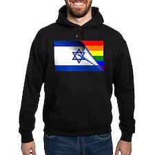 Israel Gay Pride Rainbow Flag Hoodie
