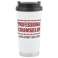 Funny Counselor Travel Mug
