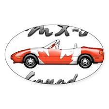 Miata MX5 Canada front Decal