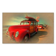 Curtis Fry Classic Woodies Decal
