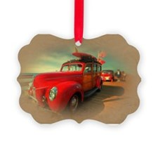 Curtis Fry Classic Woodies Ornament
