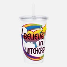 I Believe In Witchcraft Cute Believer Design Acryl