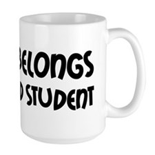 Heart Belongs Grad Student Mug